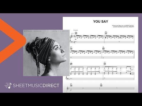 You Say Sheet Music  - Lauren Daigle - Piano, Vocal & Guitar