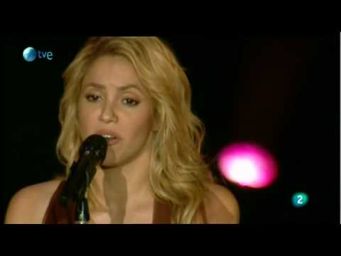Gustavo Cerati | Apoyo De Shakira - Sale El Sol | 05-06-2010