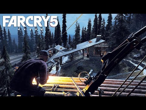 FAR CRY 5 - CO-OP Open World Gameplay (PS4 Pro) @ 1440p ✔