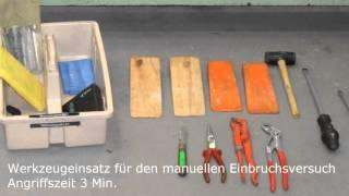 Tür im Härtetest! RC-2 zertifizierte Sicherheitstüren aus dem Türenwerk Kolb & Appel
