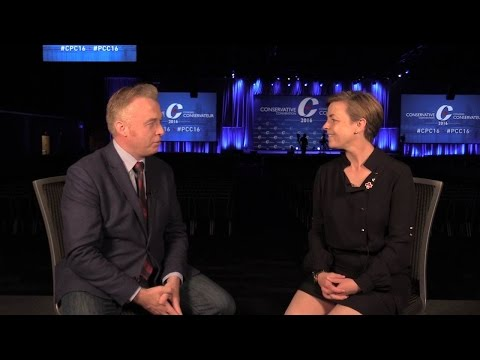 """Kellie Leitch: """"The Canadian identity is grounded in conservative values"""""""