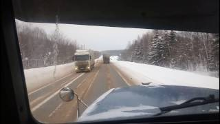 Дальнобой по россии январьский рейс часть 2(, 2017-02-06T12:46:23.000Z)