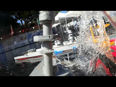 WWCC Battle Pond at San Diego Maker Faire 2015