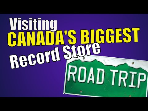 BIGGEST Record Store In Canada?   CRAZY Selection Of VINYL   Recordland In Calgary, AB