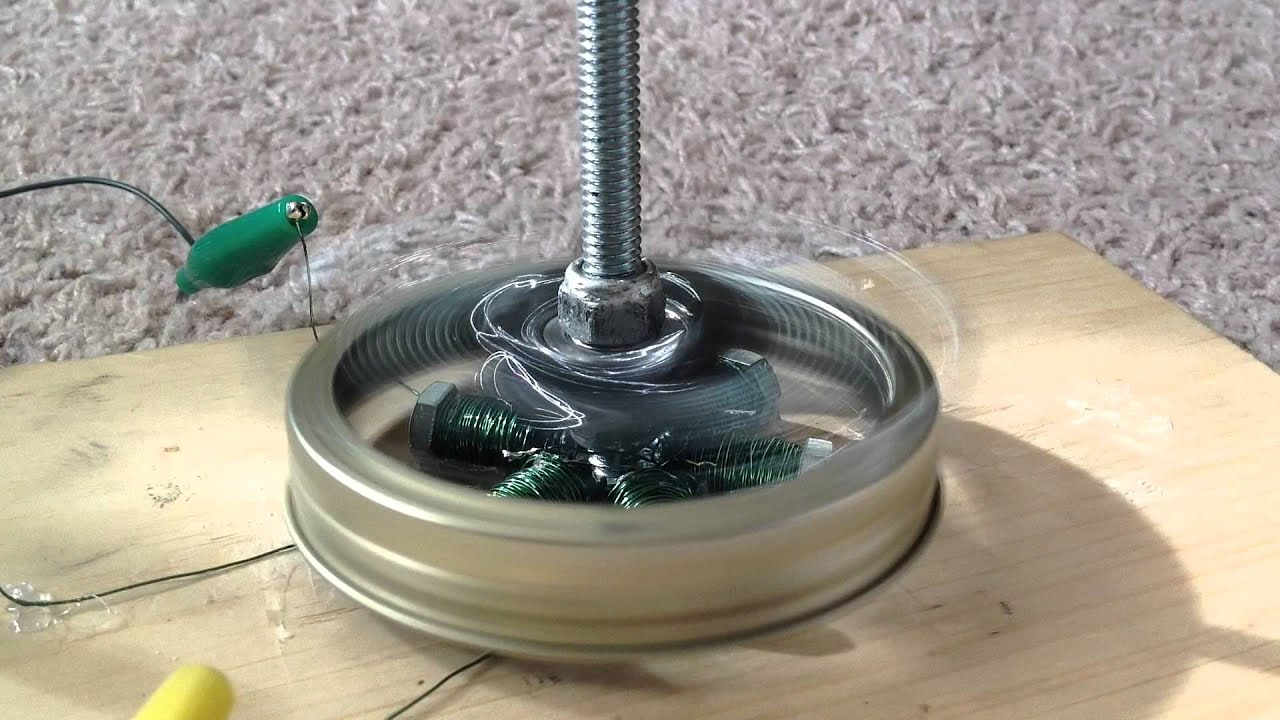 Simple Powerful Brushless Dc Electric Motor Youtube
