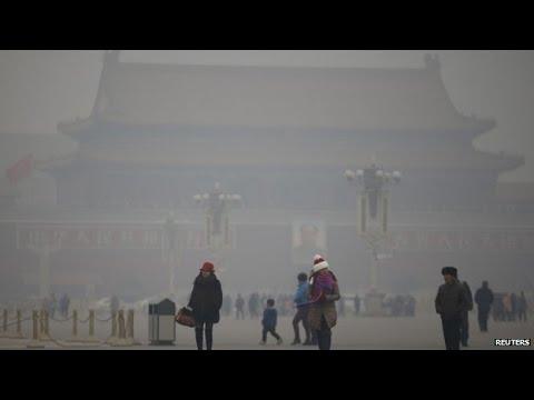 Smog Hits Beijing at Dangerous Levels