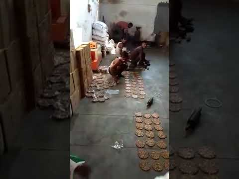 How in UP factory illegal chikki making