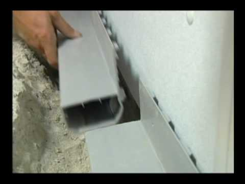 Basement Waterproofing Wet Basement Repair Youtube