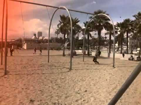 Vintage Muscle Beach, Santa Monica