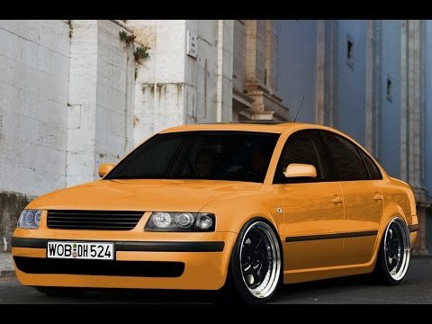 virtual tuning volkswagen passat b5 188 youtube. Black Bedroom Furniture Sets. Home Design Ideas
