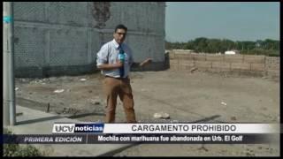 Víctor Larco: Mochila con marihuana fue encontrada en El Golf