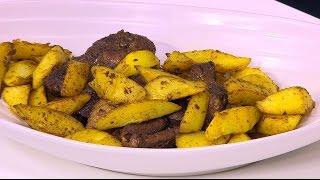 لحم مشوي مغربي   نادية سرحان