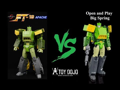 FansToys FT-19 Apache vs Open and Play Big Spring