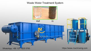 wastewater treatment system/ water recycling system/dirty water recycling machine
