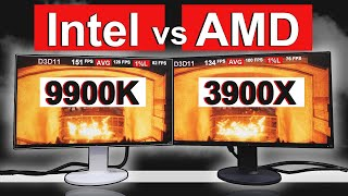 Intel vs AMD 2019 -- [ 3900X vs 9900K ]