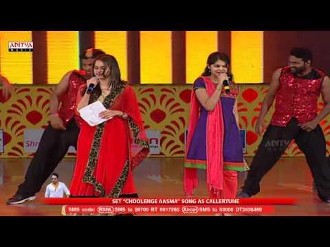 Choolenge Aasma Song Performance @ Temper Audio Launch Live    Jr. NTR, Kajal Aggarwal