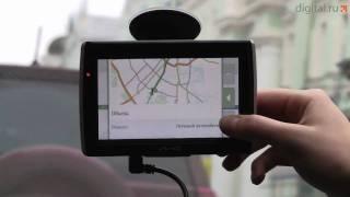 Видеообзор GPS-навигатора Mio Moov S550 Deluxe(Навигатор Mio S550 не просто поможет вам доехать до места назначения, но и заправит вашу машину 30 литрами бензи..., 2009-11-24T13:28:42.000Z)