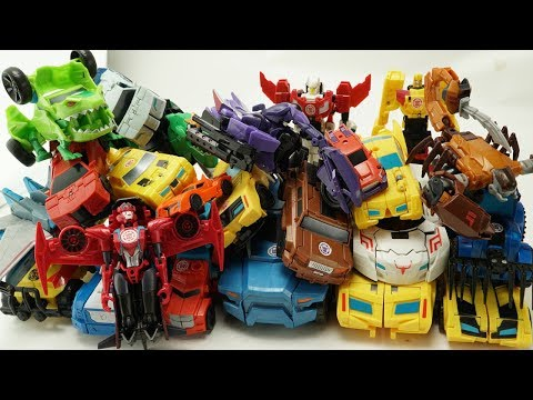 New Color Transformers Robots In Disguise Optimus Prime vs Bumblebee Vehicle Trucks Car Robot Toys