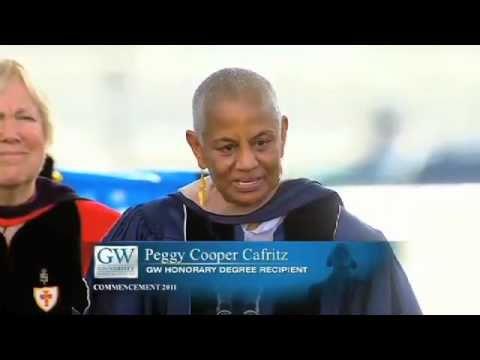 2011 GW University Commencement - Peggy Cooper Cafritz