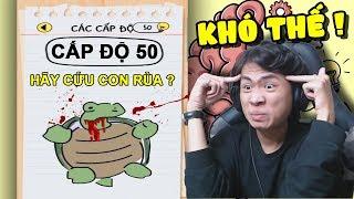 CỨU MỘT CON RÙA CHƯA BAO GIỜ KHÓ NHƯ THẾ !!! (Cực troll cực cuốn) | Brain Test #2 ✔