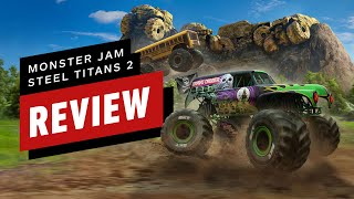 Monster Jam Steel Titans 2 Review (Video Game Video Review)