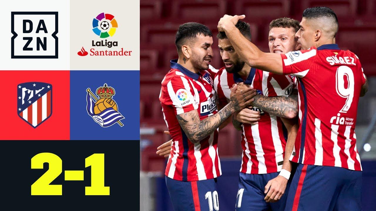 Colchoneros a un passo dal titolo: Atletico Madrid-Real Sociedad 2-1| LaLiga | DAZN Highlights