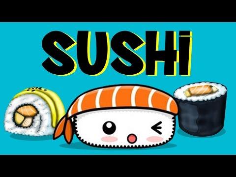 Sushi Family | Food Song | Japanese | Nursery Rhymes | Ba Na Na Songs