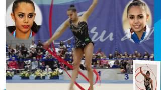 Маргарита Мамун гимнастка  из России в Рио- де -Жанейро 2016 г завоевала золото