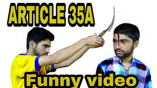 ARTICLE 35A (FUNNY VIDEO) BY KASHMIRI SUPERSTAR