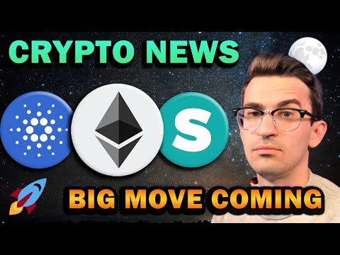 BULLISH CRYPTO NEWS!! ADA Coinbase Listing, Ethereum Layer 2, Bitcoin