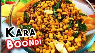 Spicy and Tasty Kara Boondi Receipe | Step By Step Kara Boondi Receipe Making | Delicious Food