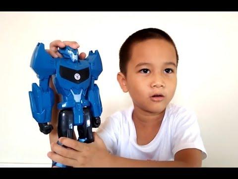 รีวิวของเล่น หุ่นยนต์ทรานสฟอร์เมอร์ สตีลจอร์ EP3 หุ่นยนต์ของเล่น | น้องเต๋อ