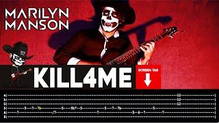 Скачать Marilyn Manson Kill4me Guitar Cover By Masuka W Tab