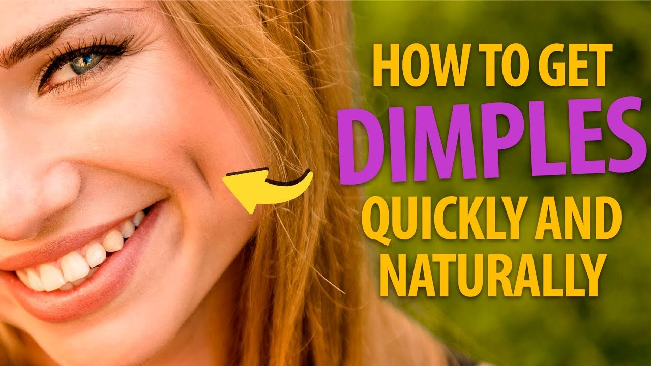 3 Ways to Get Dimples Naturally - wikiHow