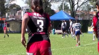Feminino M16 2019 | SESI Jacareí Rugby Preto x SPAC B | Torneio SPAC