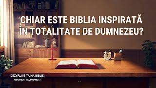 """""""Dezvăluie Taina Bibliei"""" Segment 4 - Chiar este Biblia inspirată în totalitate de Dumnezeu?"""
