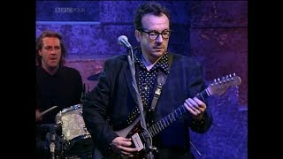 Elvis Costello Watching The Detectives live BBC, 1996 (HD)