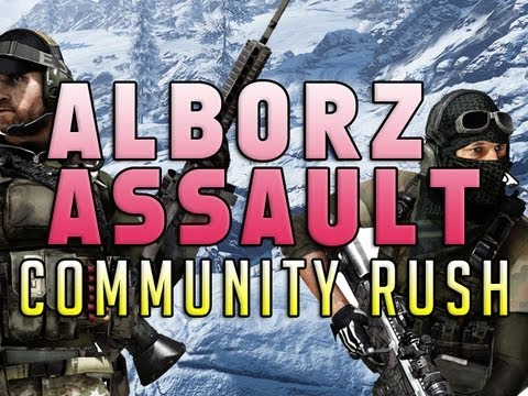 Community Rush - Alborz Assault!