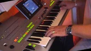 Скачать Sidewalk Cafe On Yamaha Tyros 3