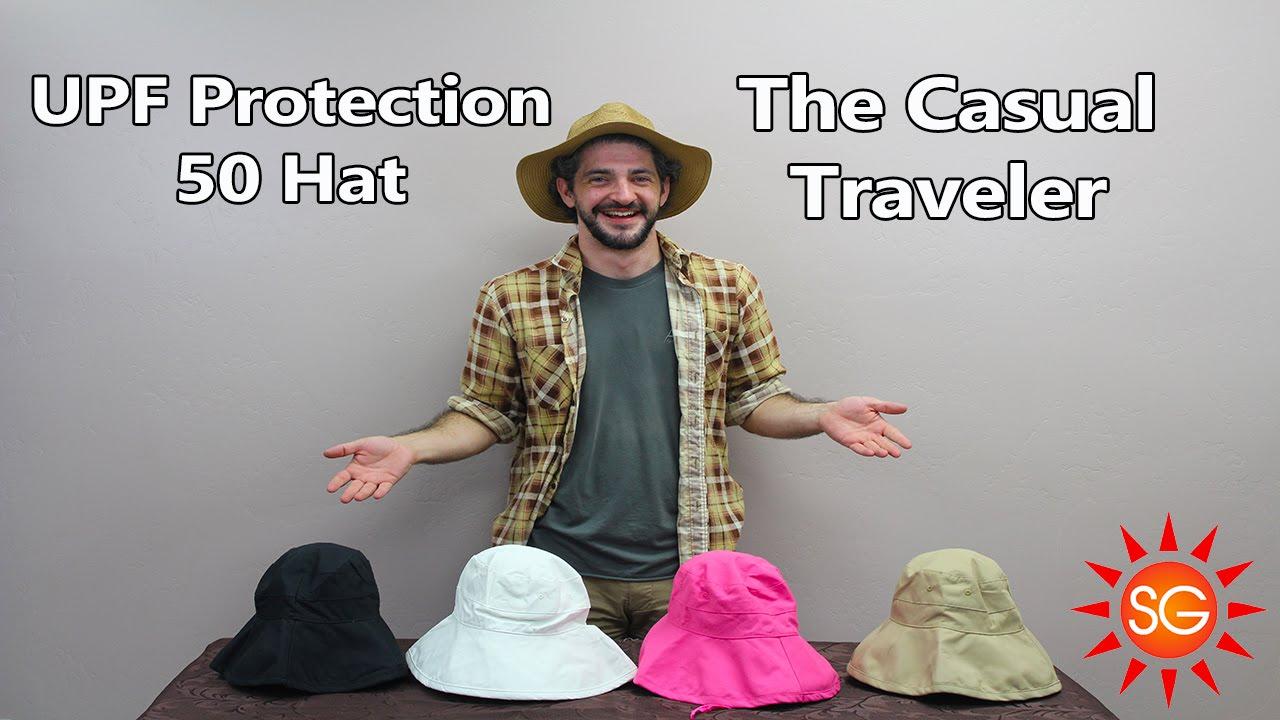 572992ce1b43ae The Casual Traveler - UPF 50 Protection Packable Bucket Hat #sunhatforwomen