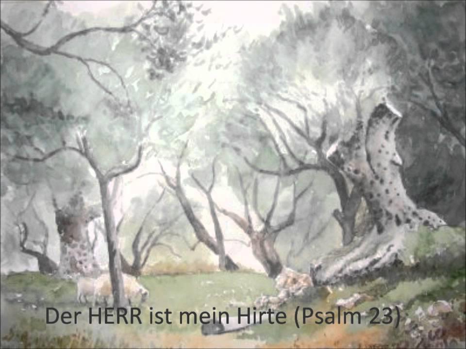Der Gute Hirte Psalm 23