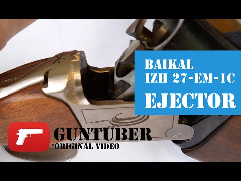 Baikal Shotgun  IZH 27-EM-1C - How To Ejectors Switch