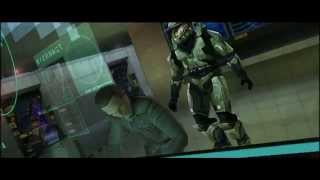 Halo: Combat Evolved - The First Mission (PC) Gameplay