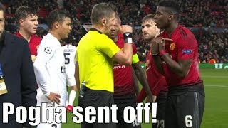 Paul Pogba sees RED! Manchester United 0-2 PSG Goal Review