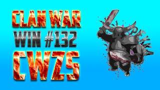 Clash Of Clans Magyarul | Clan War a CWZS klánnal | Win #132 | Majdnem maxos CW!