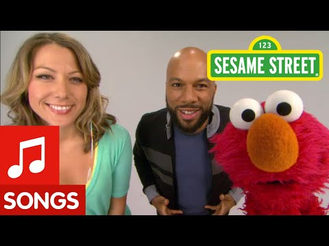 Sesame Street: Common and Colbie Caillat - Belly Breathe with Elmo