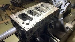 Запчасти в работе: ремонт постели коленвала двигателя 2.3л дизель F1A от Fiat и Iveco