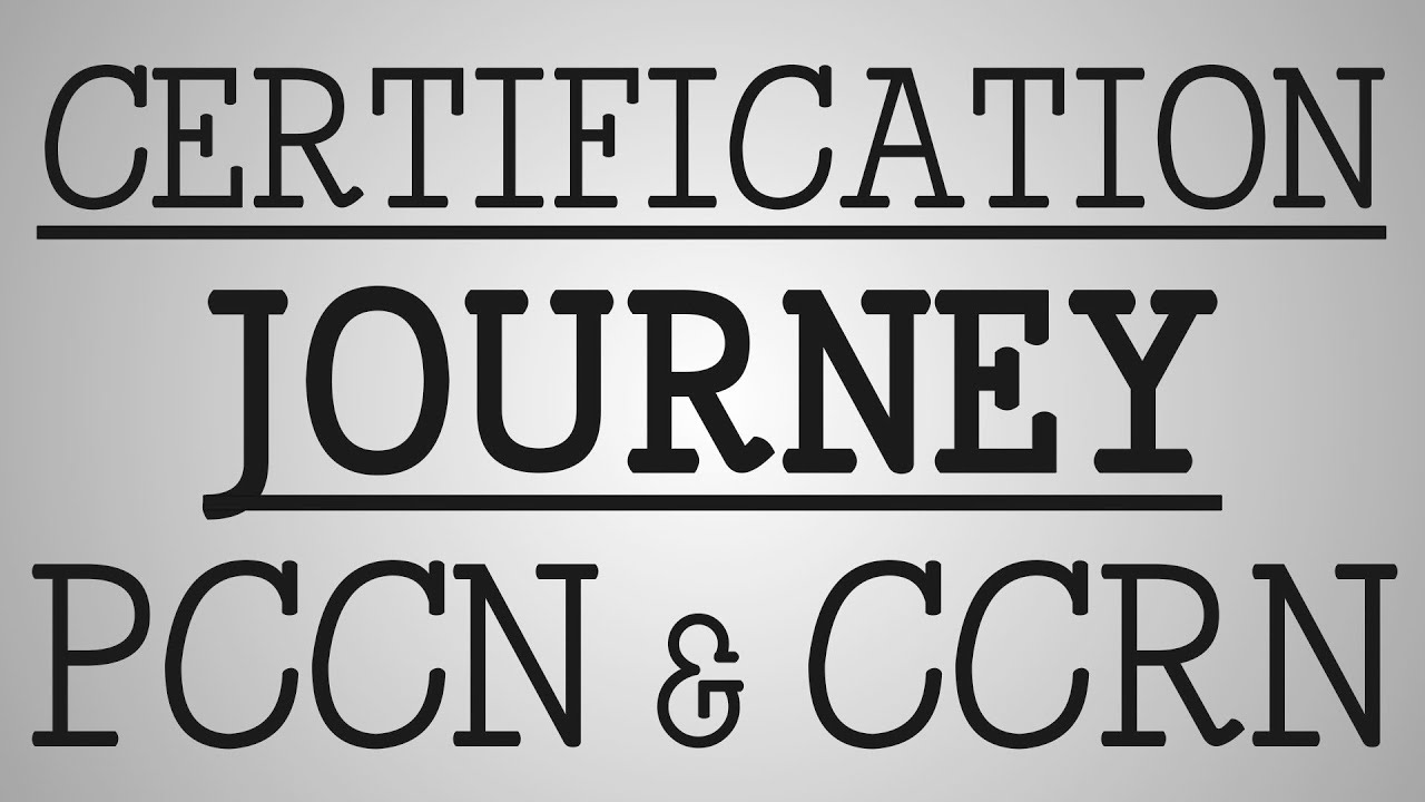 Ccrn Certification Journey Pccn Ccrn Youtube