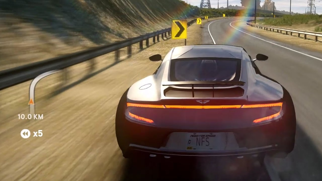 Need For Speed The Run Aston Martin One 77 2010 Test Drive Gameplay Hd 1080p60fps