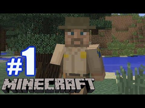 SURVIVE THE NIGHT!  Minecraft 1